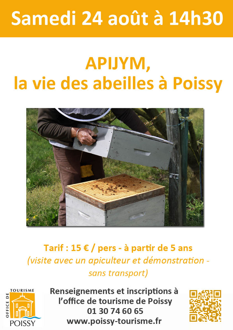 Apijym © 2019 Office de tourisme de Poissy GPS&O