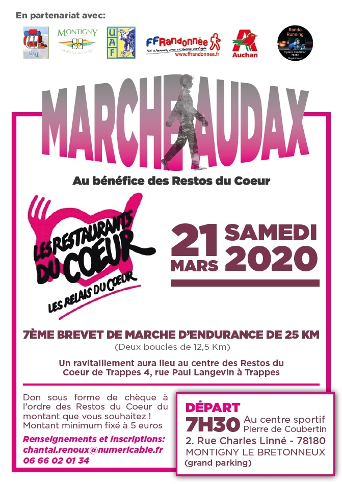 flyer de la manisfestation (association ADAL)