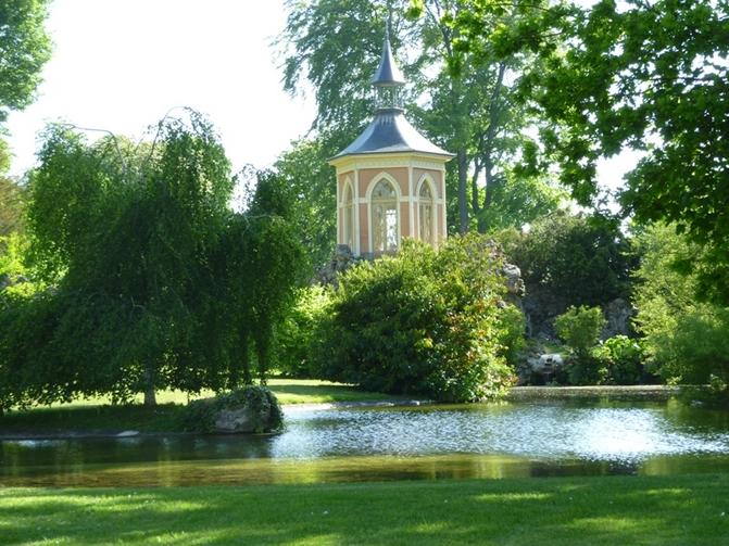 Parc du ch teau du haut rosay yvelines tourisme for Parc yvelines visiter