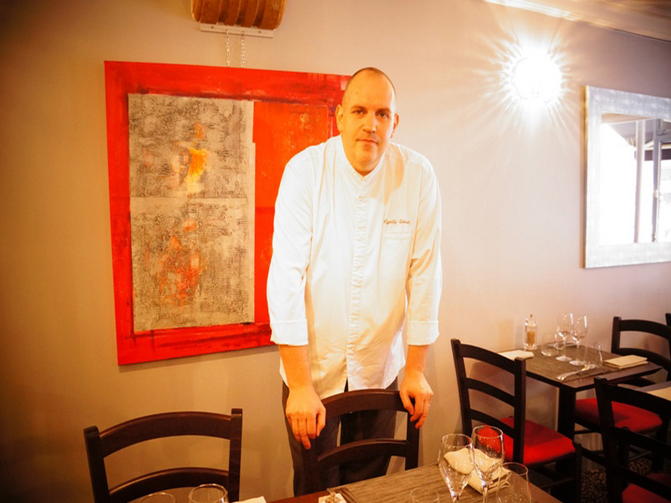Le chef Cyrille Robert