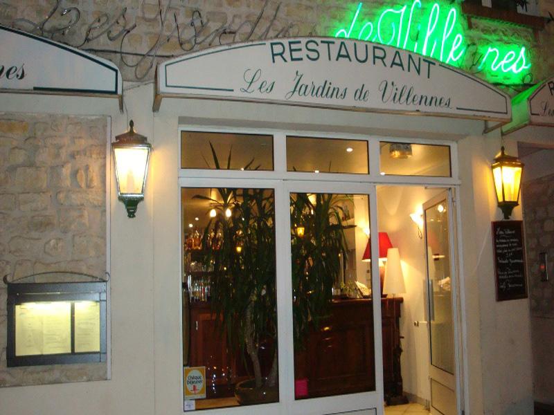 Restaurant les jardins de villennes yvelines tourisme for Restaurant jardin yvelines