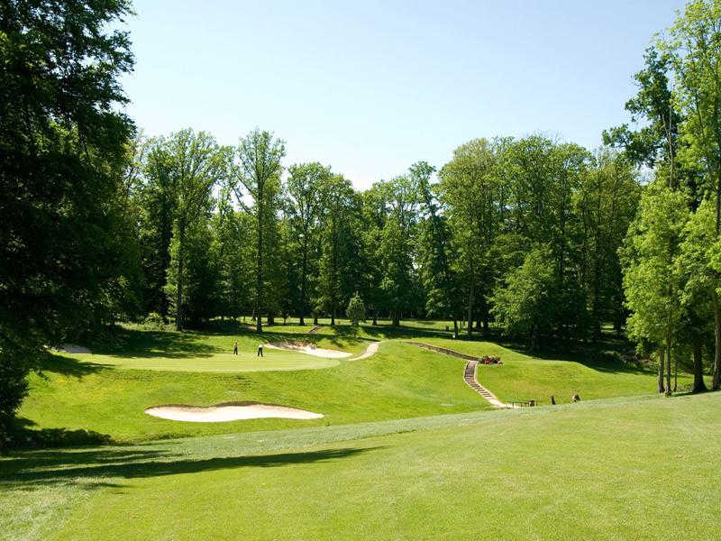 Le golf des yvelines au ch teau de couharde yvelines for Parc loisir yvelines