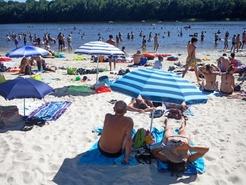 Plage et baignade tangs de hollande for Parc loisir yvelines