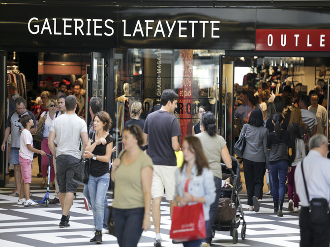Shopping One Nation Paris Galeries Lafayette outlet 800x600