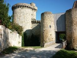 Chateau de la Madeleine - Entrée