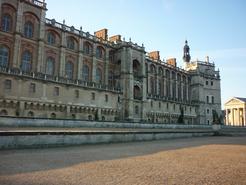 Cour extérieure du château de Saint-Germain-en-Laye