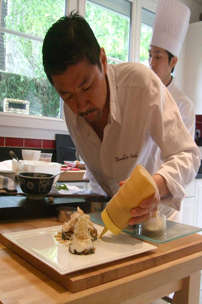 Tomohiro Uido - Chef du village