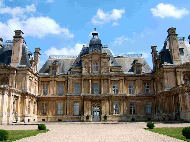 Le ch teau de maisons maisons laffitte yvelines tourisme for Chateaux yvelines visites